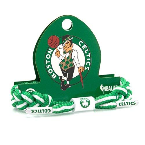 Rastaclat NBA Boston Celtics Green Basketball Shoelace Bracelet RC001CLT