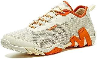أحذية كاجوال للرجال - أحذية مشي مسامية للرجال أحذية الرحلات الرياضية في الهواء الطلق أحذية تسلق سريع الجفاف Zapatos De Hom...