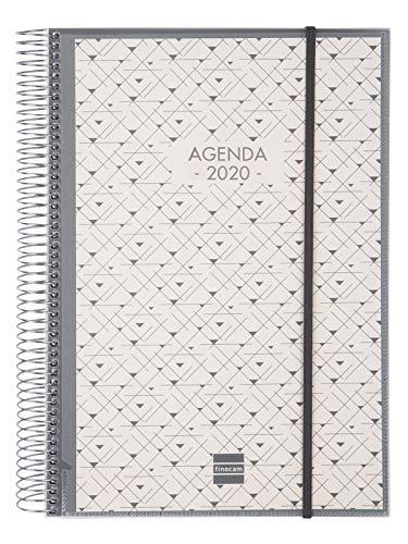 Finocam - Agenda 2020 1 día página Espiral Personalizable español