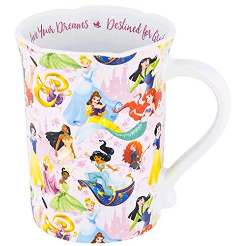 Disney Parks - Taza de café, diseño de princesa