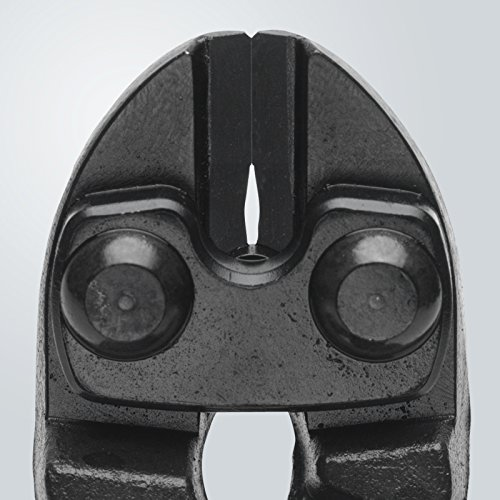 KNIPEX 71 32 200 CoBolt® Coupe-boulons compact noire atramentisée avec gaines bi-matière minces 200 mm