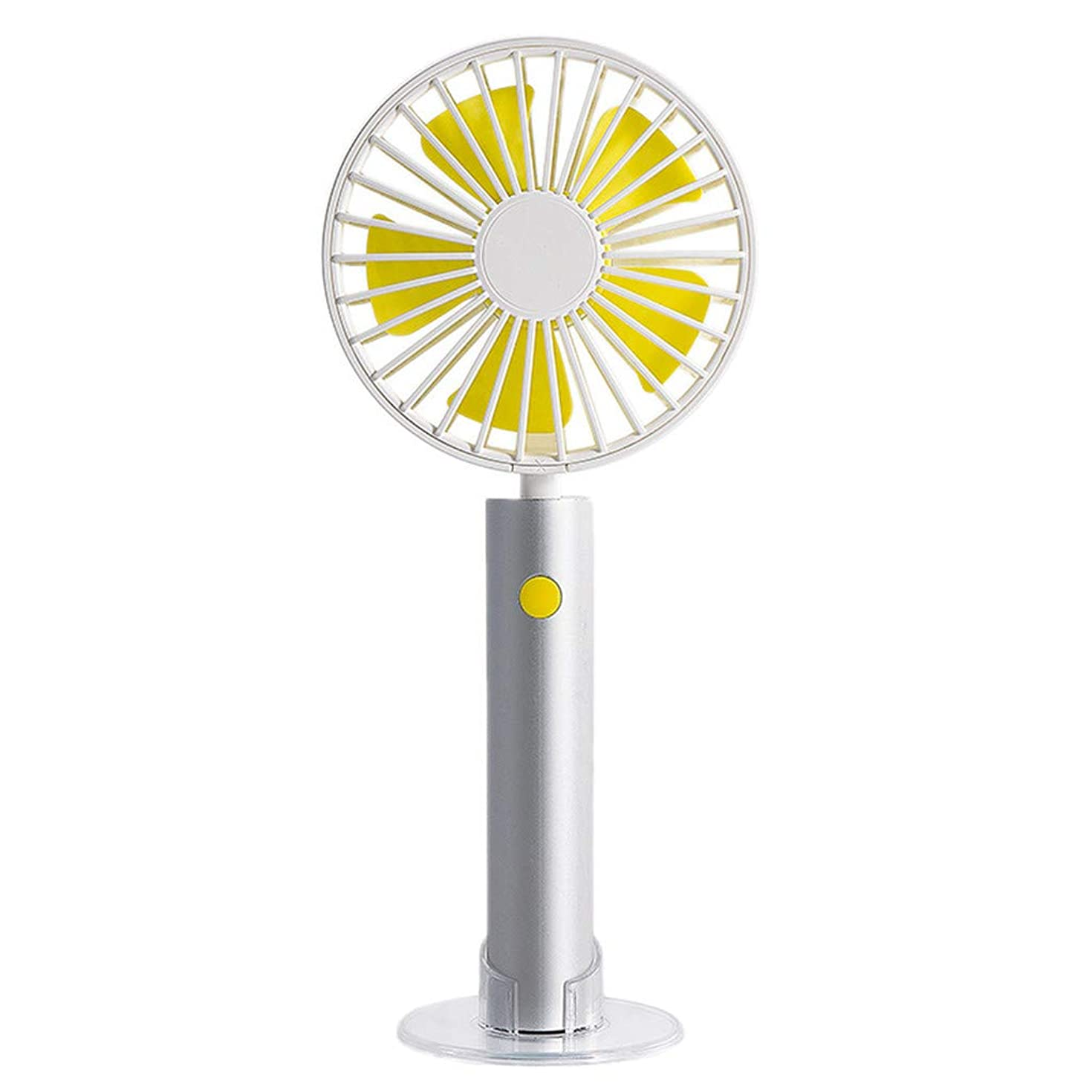 OrchidAmor New Portable Handheld Fan Mini Size USB Rechargeable Hand Hold Fan Standable Fans 2019 New Fashion