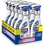 VIAKAL Detersivo Anticalcare Spray Fresco Profumo, Maxi Formato 10 Pezzi da 515 ml