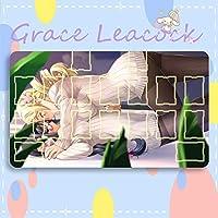 GraceLeacock カードゲームプレイマット 遊戯王 プレイマット 魔法少女まどか☆マギカ 巴 マミ TCG万能 収納ケース付き アニメ 萌え カード枠あり (60cm * 35cm * 0.5cm)