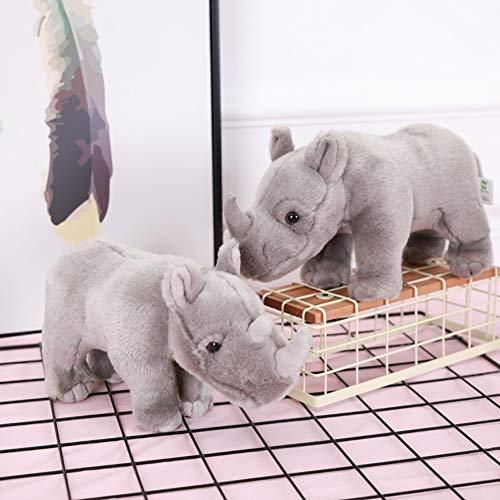 TankMR Linda posición Rinoceronte muñeca de Peluche