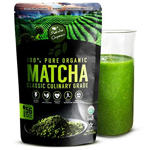 Polvere di tè verde Matcha biologico del Dipartimento...