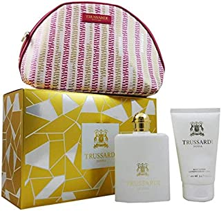 Trussardi Donna Gift Set For Women - Eau De Parfum Spray 100 ml + Body Lotion 200 ml + Beauty Case 100 ml