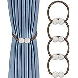 TOCYORIC 4 Piezas Abrazaderas Magnética para Cordones de Sujeción Magnéticos...