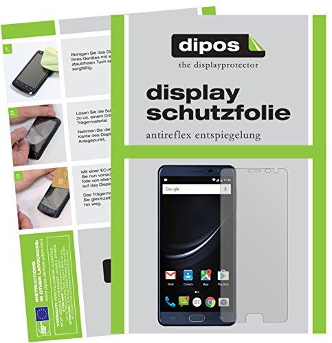 dipos I 2X Schutzfolie matt kompatibel mit Cubot Cheetah 2 Folie Displayschutzfolie