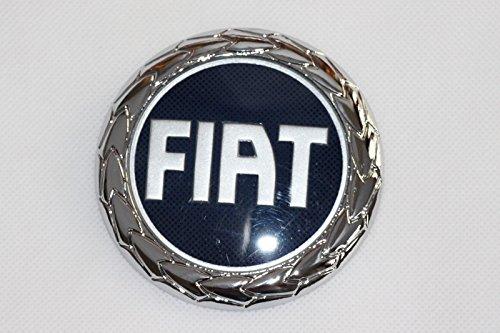Fregio stemma logo FIAT Nuova Panda Idea Posteriore 85 mm