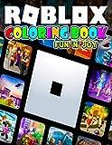 Fun 'N' Joy - Roblox Coloring Book: Exclusive Work - 25 illustrations Great Coloring Book for Adults, Teenagers, Tweens, Older Kids, Boys, Girls, Toddlers, Kids