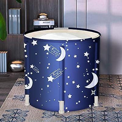LUCKUP Portable Bathtub, Easy to Install, eco-Friendly Bathtub Bathroom spa