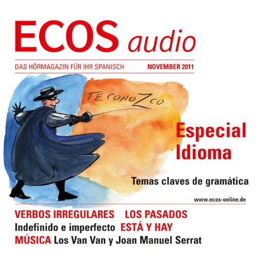 ECOS audio - Verbos irregulares 11/2011 cover art