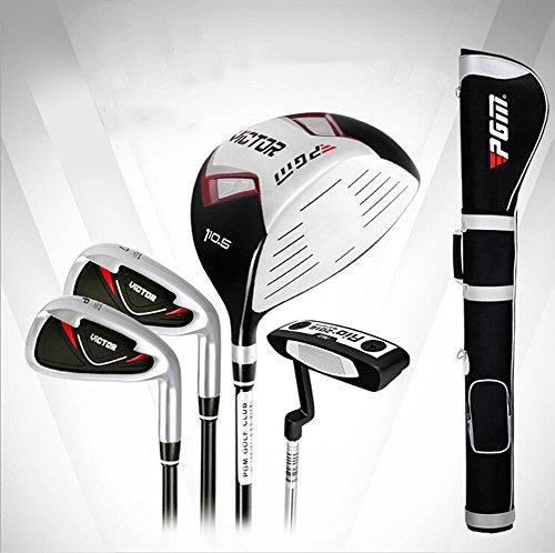 PGM Golfschläger-Set, halbes Set, 4 Schläger mit Schlägertasche, Rechtshänder, Graphitschaft, Stil 2 für Herren