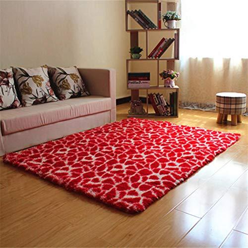 JJSDT Tapijt, groot tapijt, luipaardbedrukt, deurmat, keuken, mat, nachtruimte, tapijten en tapijten voor woonkamer