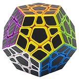 Puzzle Cube 3x3x3 Coolzon® Magico Cubo con Adesivo in Fibra di Carbonio Nuovo Ve