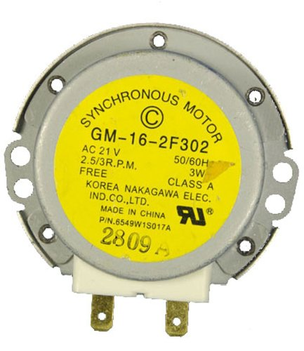 LG Electronics 6549W1S017A Microwave Oven Synchronous Circulating Motor