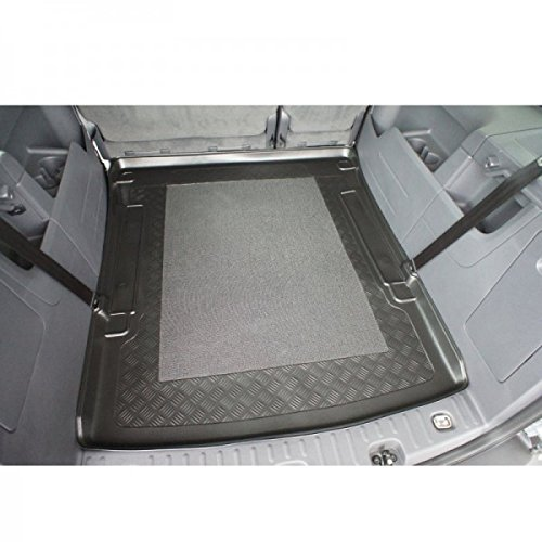 Kofferraumwanne - Kofferraumeinlage - Kofferraumschutz - Kofferraummatte, mit Anti-Rutsch-Fläche und Rand, Nr. 80009092