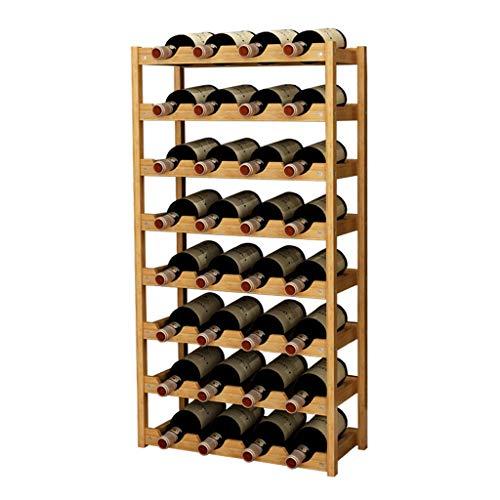 Almacenamiento de botellas de vino Titular Armario bodega de almacenamiento soporte de la botella de vino vino rack gabinete de decoración Armario bodega de almacenamiento de titular soporte del vino