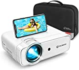 Videoprojecteur, VANKYO Projecteur Soutien 1080P Full HD , Mini Retroprojecteur Portable Multimédia Cinéma Maison, HDMI/VGA/AV/TF/USB Compatible avec TV Box/PS4/Smartphone