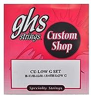 GHS (ジーエイチエス) ウクレレ弦 TU-LOW G BLACK NYLON LOW G - Black Nylon, Silverwound