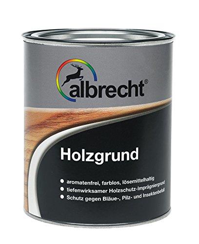 Lackfabrik J. Albrecht GmbH & Co. KG 3400657010000000750 Albrecht Holzgrund 750ml, farblos