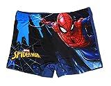 Spiderman - Short de Bain - Garçon Multicolore Mehrfarbig Medium - Bleu - Medium