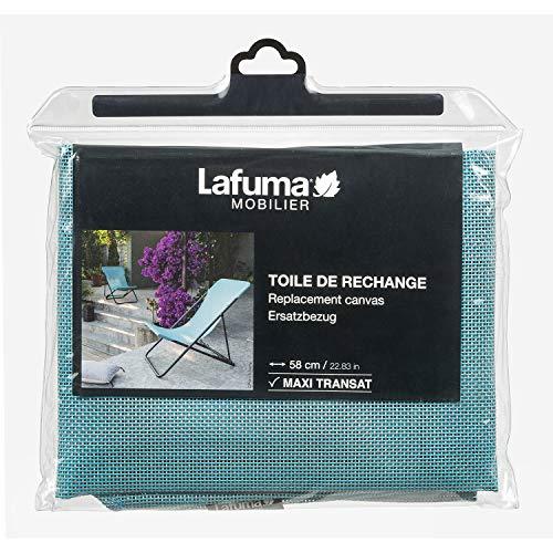 Lafuma Reserve -Batyline-overtrek voor ligstoel Maxi-Transat, lichtblauw, LFM2655-8553