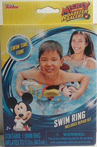 What Kids Want Disney Junior Mickey y el Roadster Racers – Anillo de natación