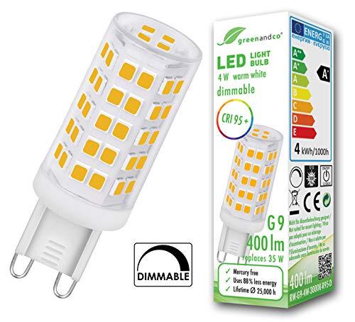 LED Einbaustrahler 1,5W LED G4 warm-weiß 120LM 140° 12V