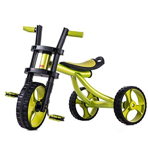 Kinder Dreirad Kinderfahrrad Trike Dreirad Fahr-On Fahrrad Spielzeug Dreirad Infant Fahrrad Müssen installiert Werden Balanced Dreirad 2-5 Jahre alt Aufblasbares Kind Harley Auto