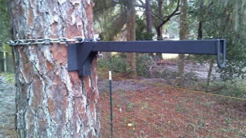 EZ-Feeder Hanger - artificial tree limb -HEAVY DUTY -Deer Hog Hunting Camping Garden-FREE SHIP