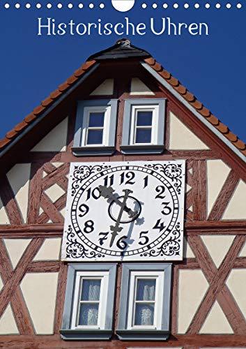 Historische Uhren (Wandkalender 2021 DIN A4 hoch)
