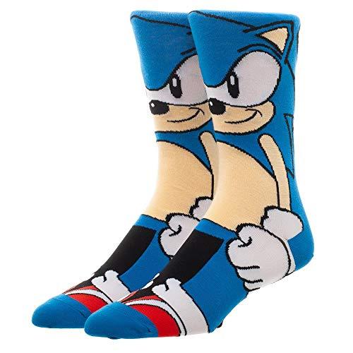 Sonic the Hedgehog Socks Sonic Gift - Sonic the Hedgehog Accessories Sonic Accessories - Sonic the Hedgehog Gift