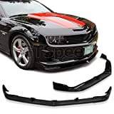 GT-Speed - STL Style PU Front Bumper Lip - Compatible With 2010-2013 Chevy Camaro SS/V8 Bumper Only (Not Compatible With V6 Bumper)