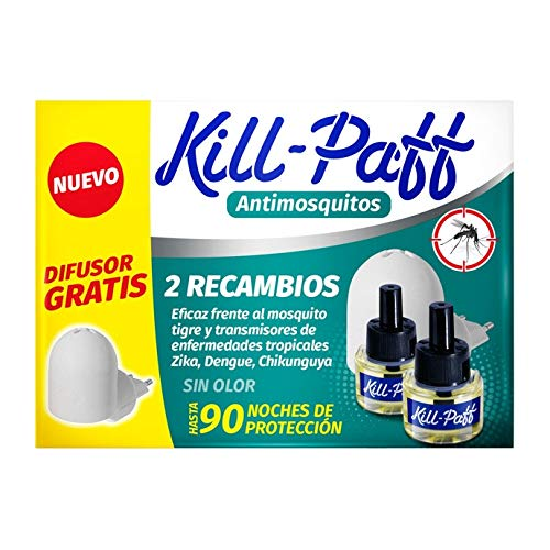 Antimosquitos Recambio Eléctrico Kill Paff 90 Noches