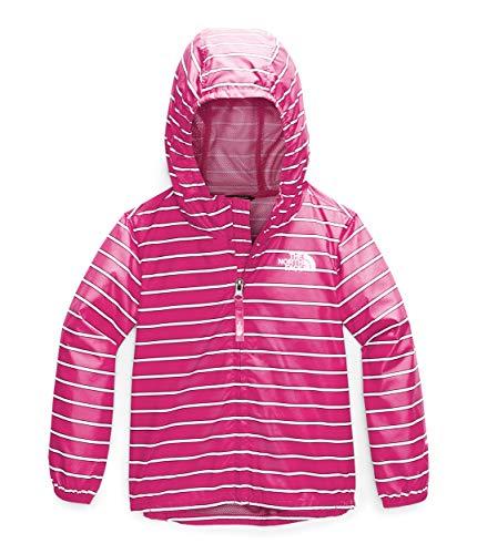 The North Face Toddler Novelty Flurry Wind Jacket, Mr. Pink Alpine Stripe Print, 6T