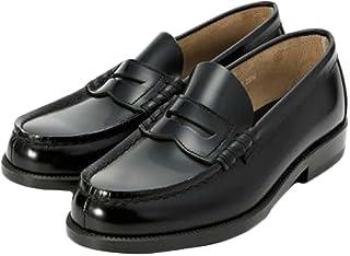 [ハルタ] 男子 通学シューズ メンズ 牛革仕様 906 ブラック