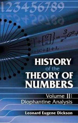 History of the Theory of Numbers: Volume II; Diophantine Analysis