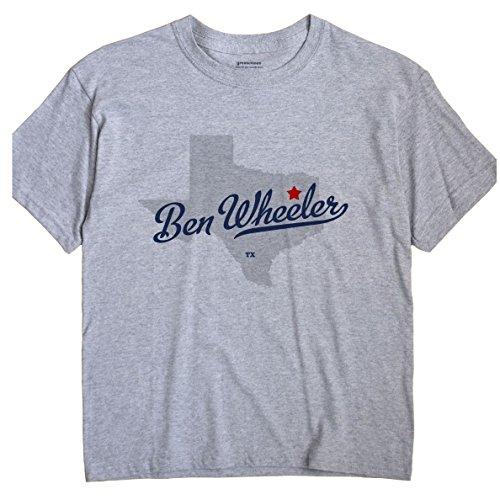 Ben Wheeler Texas T-Shirt MAP Large Grey