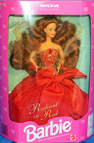 Barbie Collector Doll Toys R Us Special Edition Radiant in Red by Mattel (English Manual)