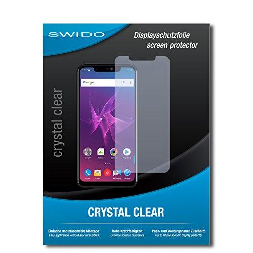 SWIDO Schutzfolie für Allview Soul X5 Pro [2 Stück] Kristall-Klar, Hoher Festigkeitgrad, Schutz vor Öl, Staub & Kratzer/Glasfolie, Bildschirmschutz, Bildschirmschutzfolie, Panzerglas-Folie