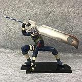 YIGEYI Naruto Kakashi Anime Acción Figura 15 cm Figuras de PVC Figuras Coleccionables Modelo de carácter Estatua Juguetes