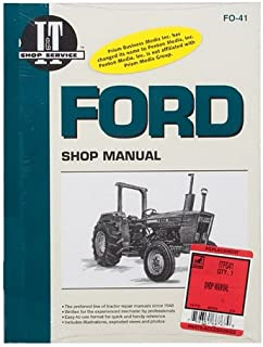 SHOP MANUAL Ford 2310 2600 2610 3600 3610 4100 4110 4600 4600SU 4610 4610SU Tractor