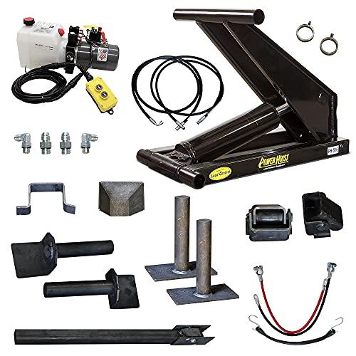 8 Ton (16,000 lb) Dump Trailer Hydraulic Scissor Hoist Standard Kit - Power Hoist 516