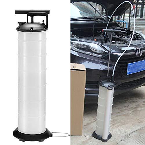 Fetcoi Manuelle Ölabsaugpumpe, Absaugpumpe, Handpumpe Oil Extractor Pump für Benzin Diesel Öl Wasser, 7L Kapazität