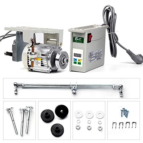 Best Buy! 1000W Branch-Mounted Sewing Machine Servo Kit 220V Pure Copper Core Motor 500-4500rpm fit ...
