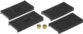 Prothane 7-1707-BL Black Rear Upper and Lower Mono Leaf Spring Pad Kit