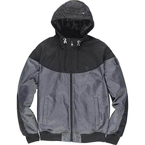 Element Dulcey Trail Chaqueta, Hombre, Flint Black HTHR, XL EU