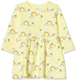 NAME IT Nmftilly LS Swe Dress UNB Vestido, Limonada, 80 para Bebés